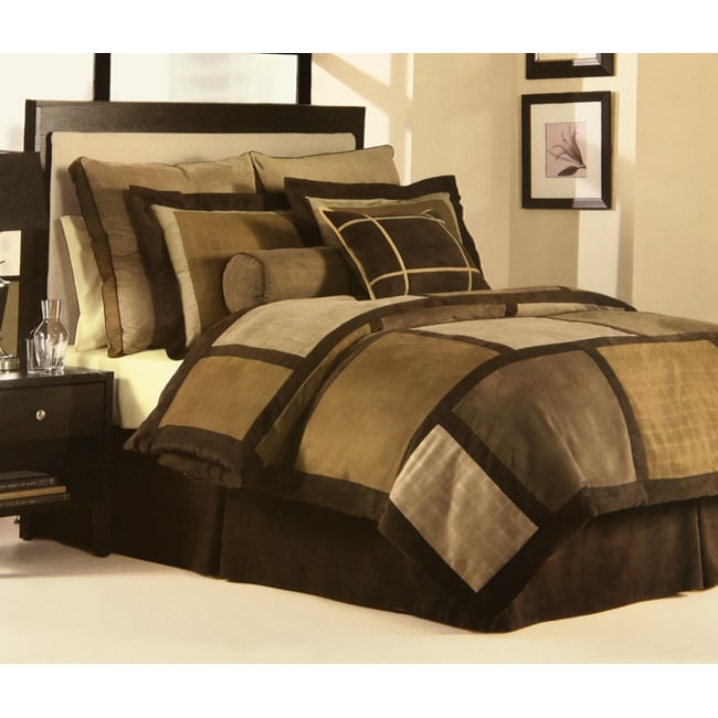 Urban Living Latte 4-piece Comforter Set