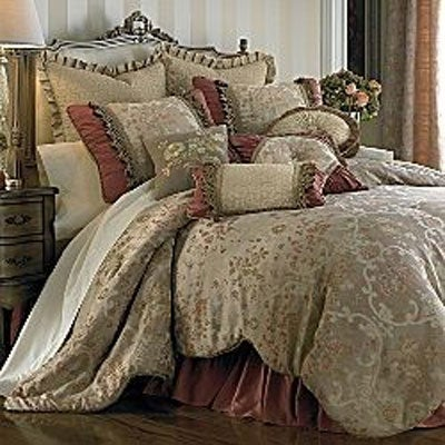 Shop Blush Romance 4 Piece Comforter Set Free Shipping