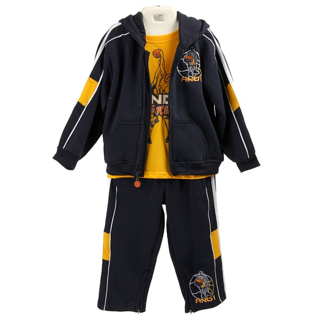 Shop And1 Toddler Boy S 3 Piece Black Gold Outfit Ships To Canada
