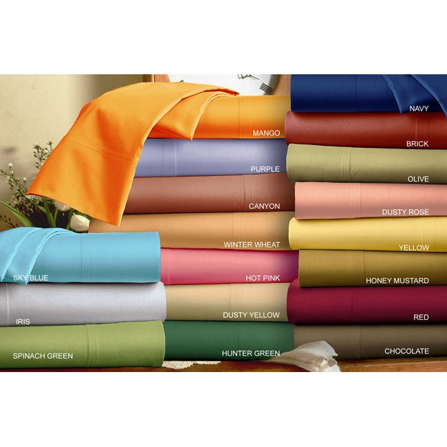 210 Thread Count Bright Sheet Set