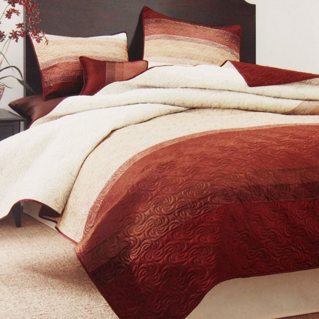 Horizon 4-piece Queen-size Coverlet Set