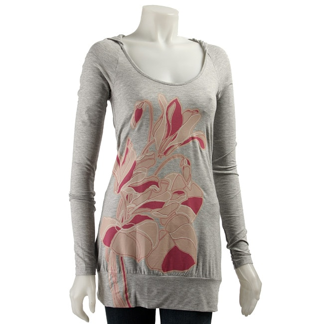 Bcbgeneration Women 39 S Extra Long Grey T Shirt Free