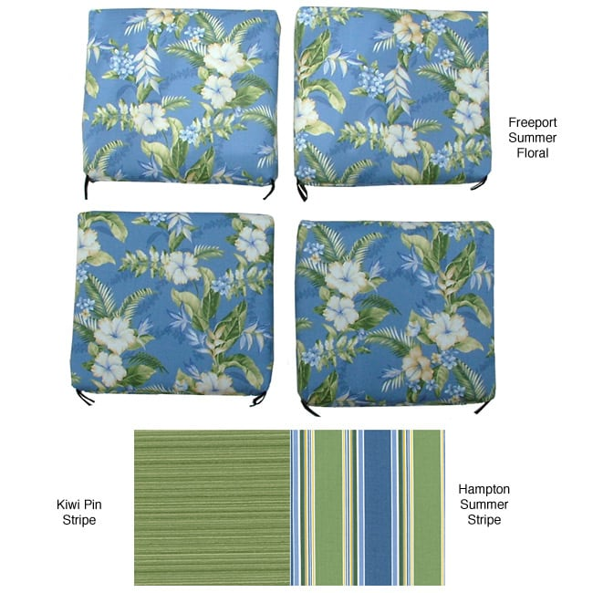 Shop Outdoor Chair Cushions Set Of 4 Free Shipping Today