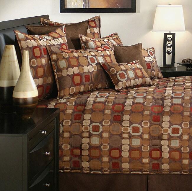 Sherry Kline Metro Spice 7-piece Comforter Set