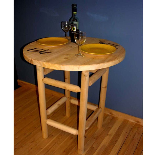 Chateaugay White Cedar Tall Bistro Table