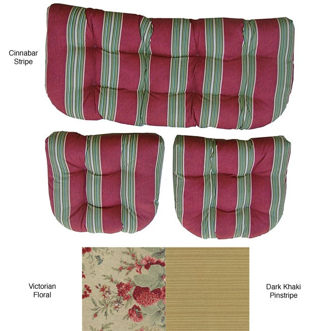 Outdoor 3-piece Cushion Set