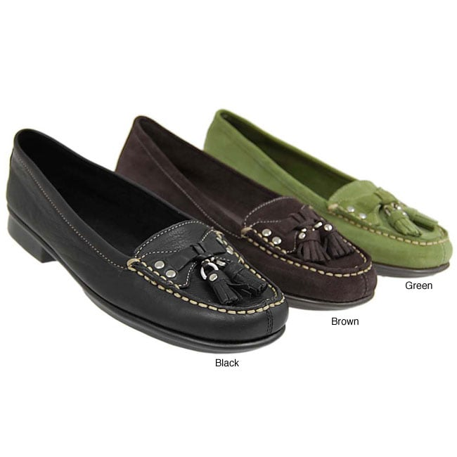 Aerosoles Stitched Front Moccasin Shoes