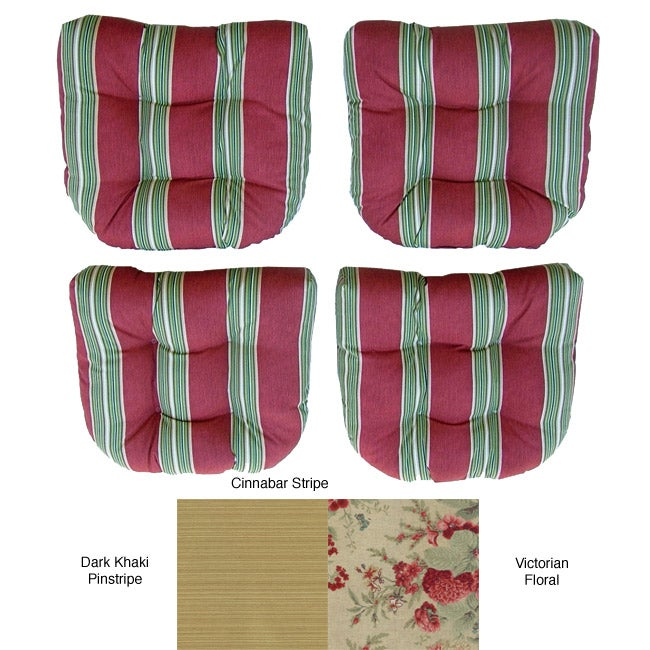 Outdoor Dining Chair Cushions (Set of 4)