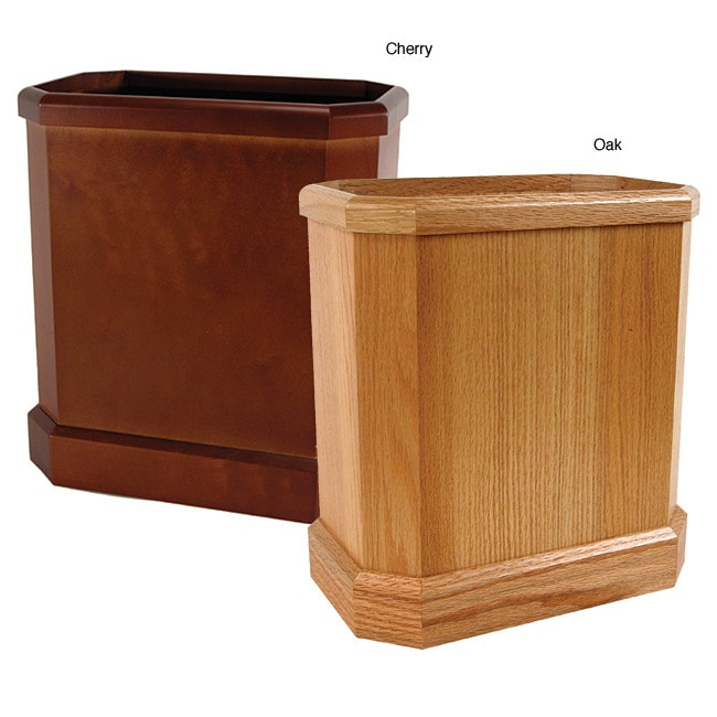 Buddy Wooden Waste Basket Free Shipping On Orders Over