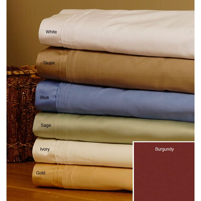 Egyptian Cotton 1500 Thread Count White Duvet Cover Set (Open Box)