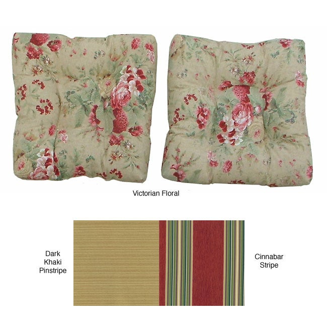Outdoor Square Chair Cushions (Set of 2)