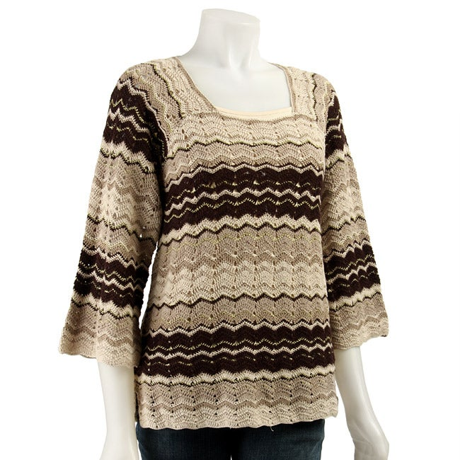 David Brooks Women's Missoni Crochet Sweater