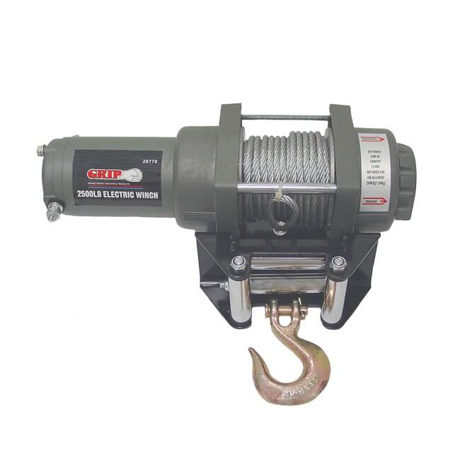 GRIP 2500-pound ATV Electric Winch