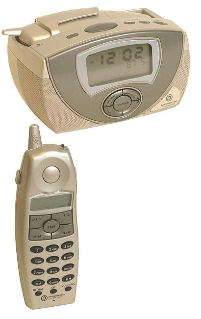 Southwestern Bell Cordless Phone with Clock Radio