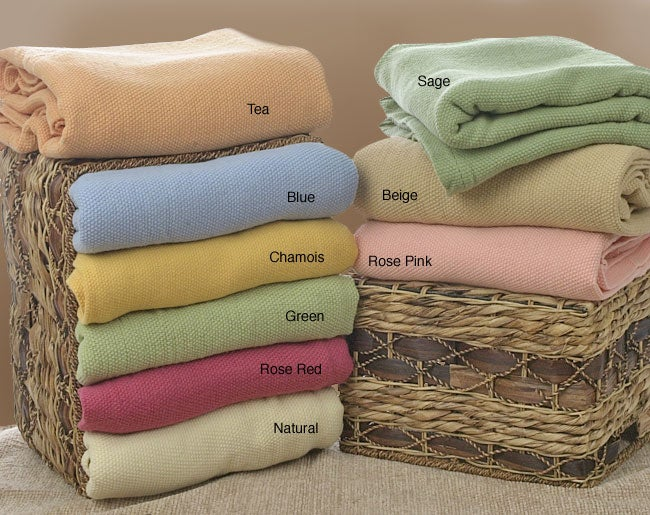 Admire Home Living Christy Australian Merino Lamb's Wool Blanket
