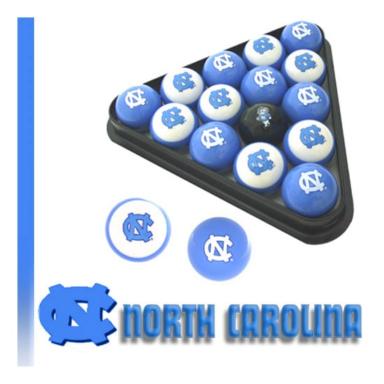 Shop North Carolina Tar Heels Billiard Balls