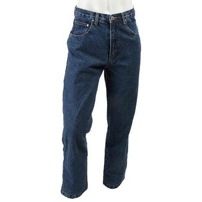 Flannel Lined Carpenter Jeans For Men