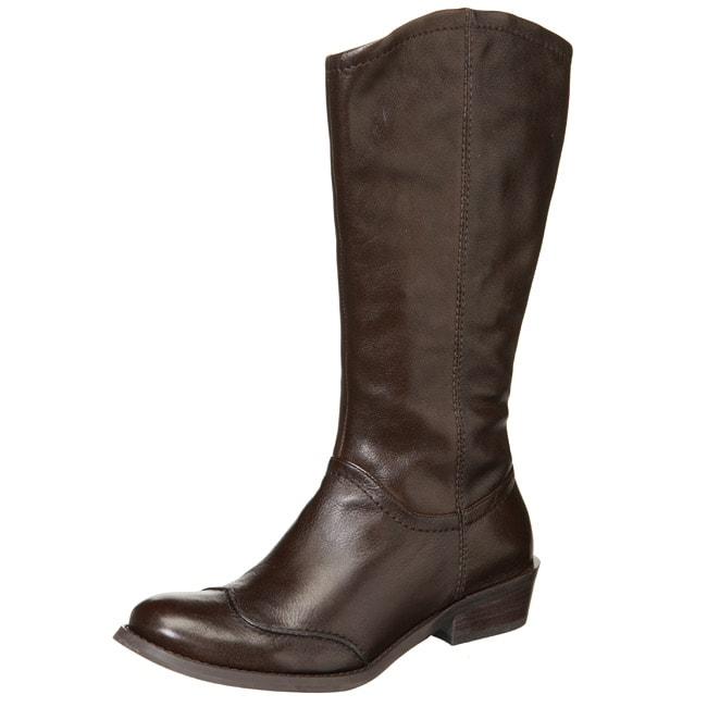 Biviel Women's 'BV1008' Low-heel Riding Boots