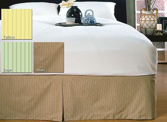Solid Stripe Bedskirt