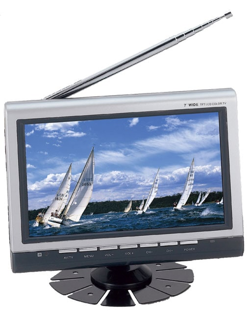 Supersonic SC-196 7-inch Color TFT LCD TV