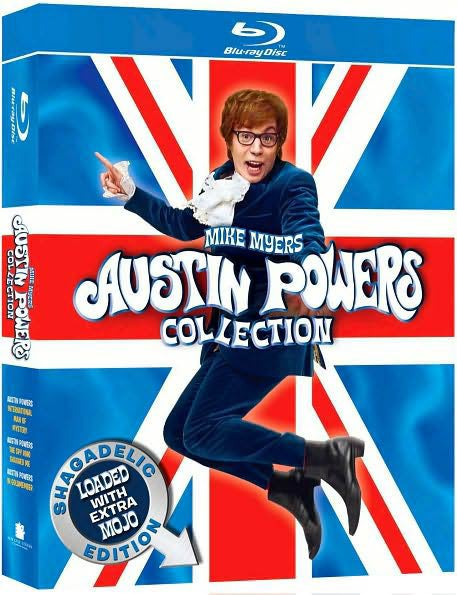 Austin Powers Collection: Shagadelic Edition Loaded With Extra Mojo (Blu-ray Disc)