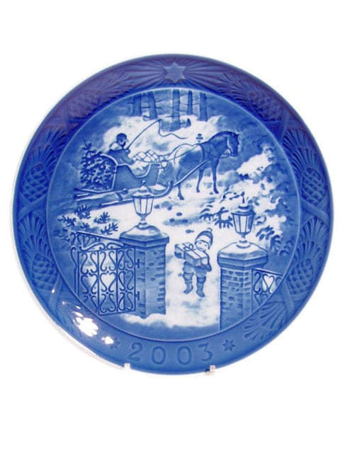 2003 royal copenhagen christmas plate - Royal Copenhagen Christmas Plates