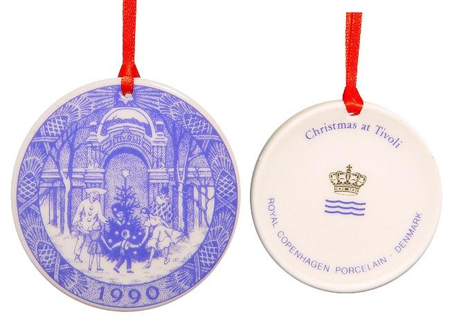 1990 Royal Copenhagen Christmas Ornament - Shop 1990 Royal Copenhagen Christmas Ornament - Free Shipping On