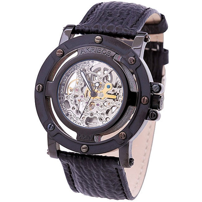 Akribos XXIV Monster Rig Men's Automatic Strap Watch