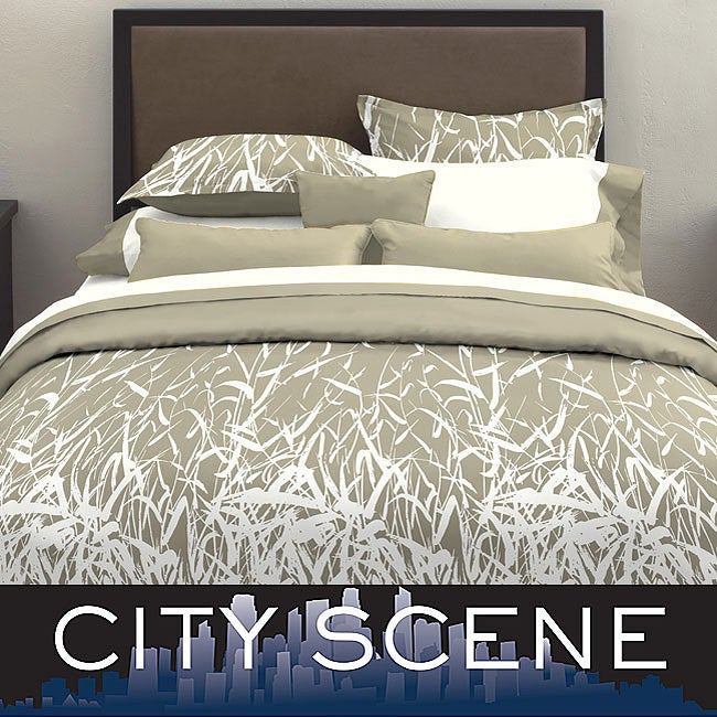 City Scene Bamboo Smoke Bed in a Bag with Sheet Set