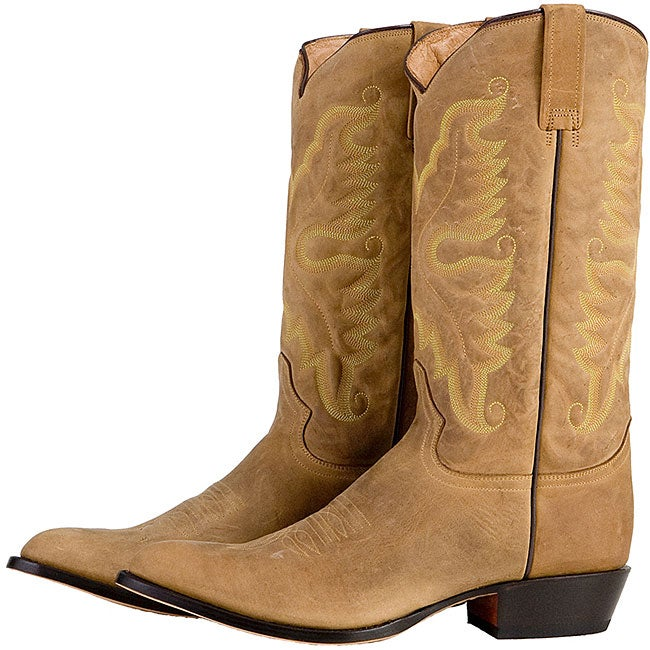 Lane Brown Suede Men&39s Cowboy Boots - Free Shipping Today