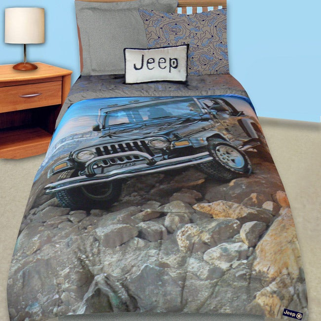 Jeep Off Road Twin Size Comforter Set Free Shipping On
