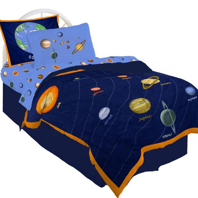 Crayola Universe Comforter Set