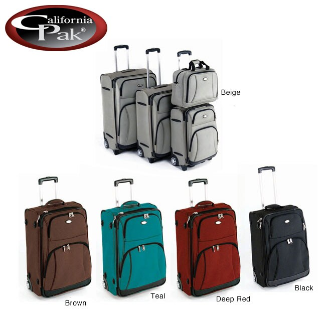 CalPak Wilmington 4-piece Luggage Set
