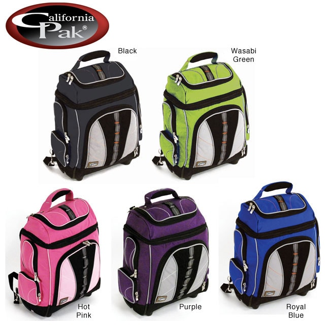 CalPak Run-A-Bout 18-inch Rolling Laptop Backpack