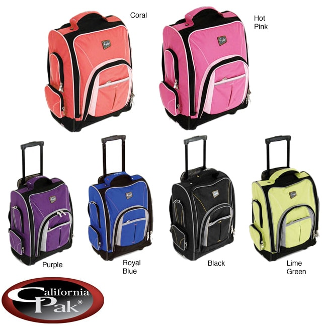 Best school bags for college students - Calpak Leader 18 Inch Rolling Backpack Free Shipping Today