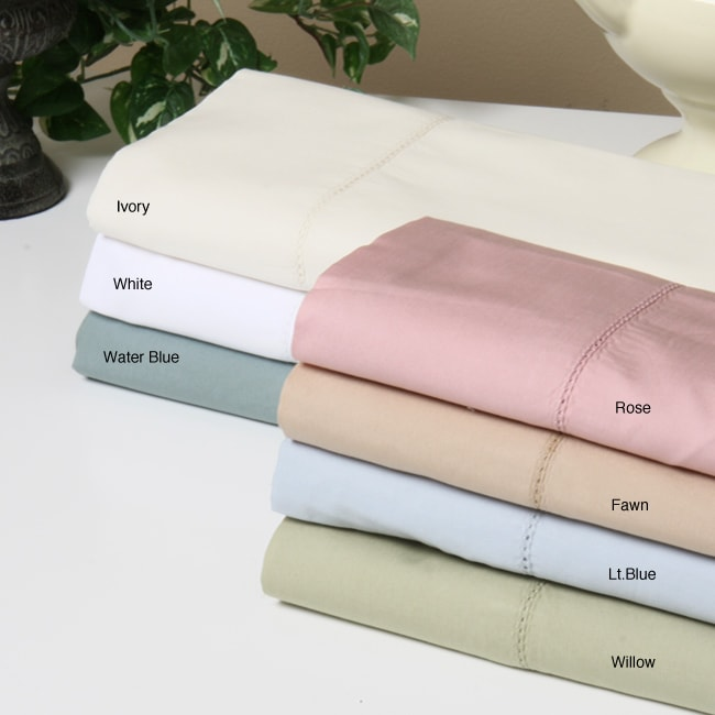 Classic Cotton 320 Thread Count Percale Sheet Set