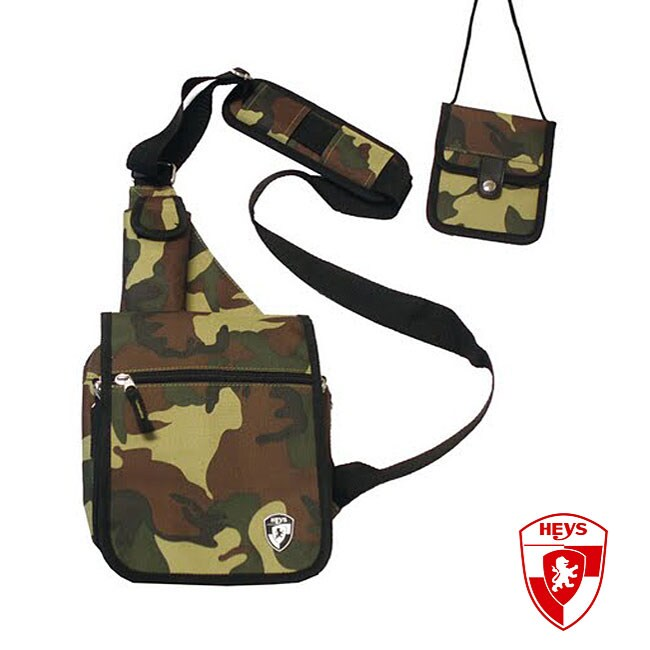 Heys USA Exotic Camoflauge TravelMate Sling Bag
