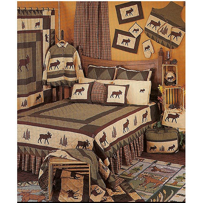 Moose Tracks Twin-size Quilt