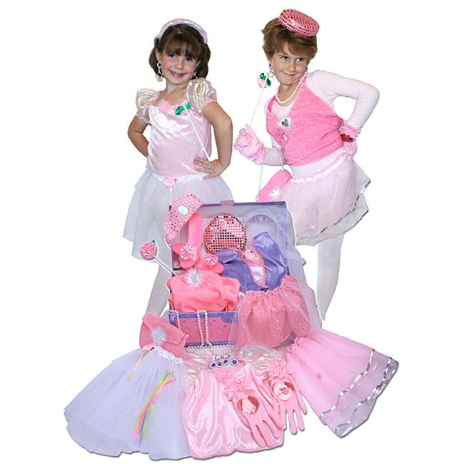 Princess Glamour Dress Up Trunk Play Set