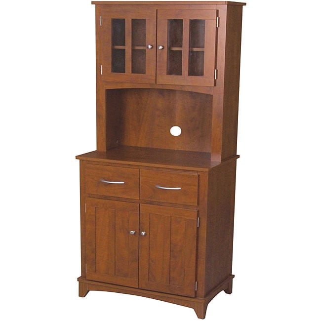 Oak Hills Microwave Cabinet Free Shipping Today