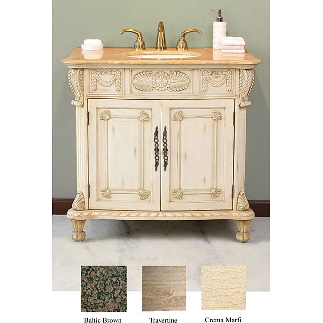 Cassara 38-inch Single Sink Bathroom Vanity