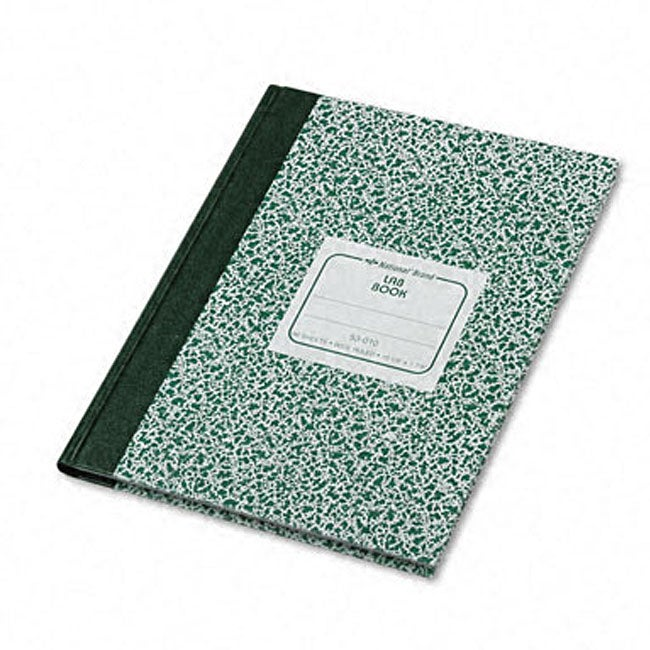Wide-ruled Stiff Cover Lab Notebook