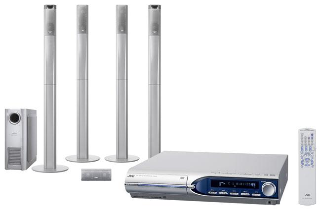 JVC THM603 5-disc 720-watt DVD Home Theater System (Refurbished)