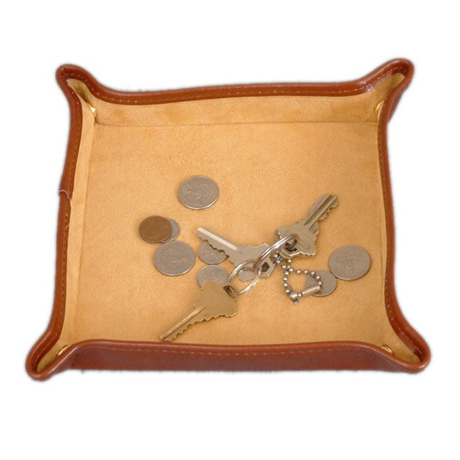 Large Brown Snap Tray