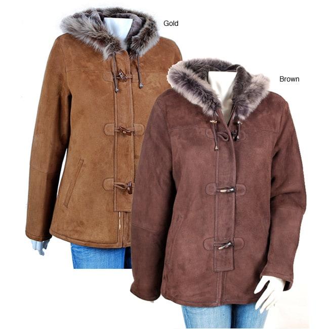 Women's Shearling Toggle Jacket