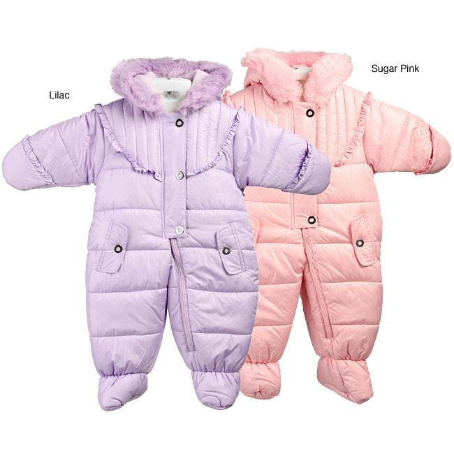 La Petite Rothschild Infant Girl's Snowsuit