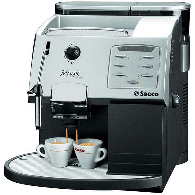 Shop Saeco Magic Deluxe Silver Espresso Coffee Machine
