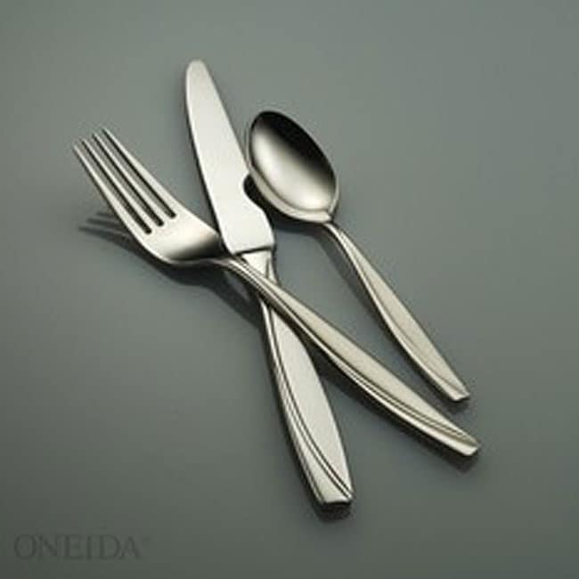 Oneida Camlynn 53 Piece Flatware Set Free Shipping Today
