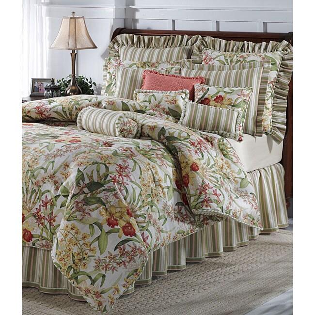 Jane Seymour Spring Terrace 4-piece Queen Comforter Set