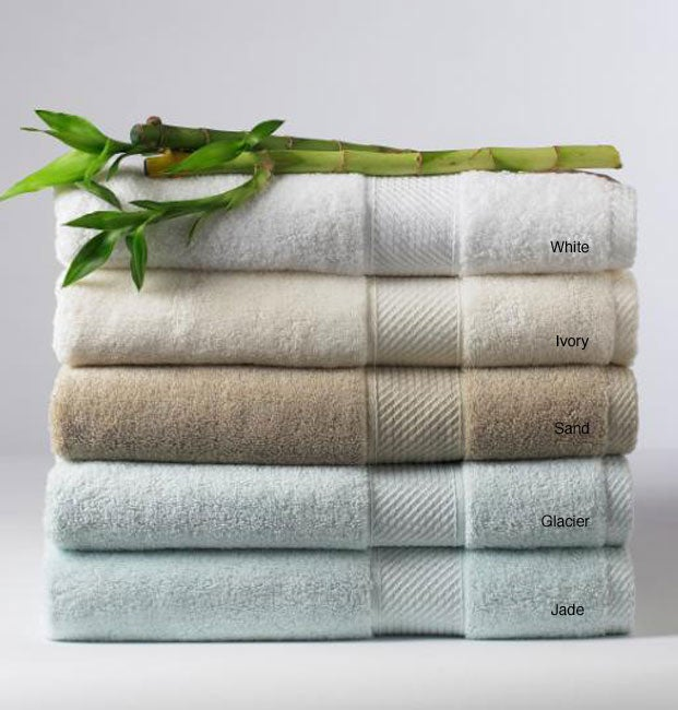 Cotton and Rayon from Bamboo Bath Towels (Set of 2) - Free ...